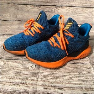 Addis's Alphabounce Running Sneakers sz 5 Youth
